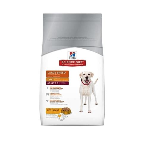hill s science diet large breed light science diet light large breed