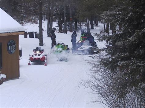 Snowmobile Rental Door County by Snowmobiling With Rohr S In Northern Wisconsin S Vilas County