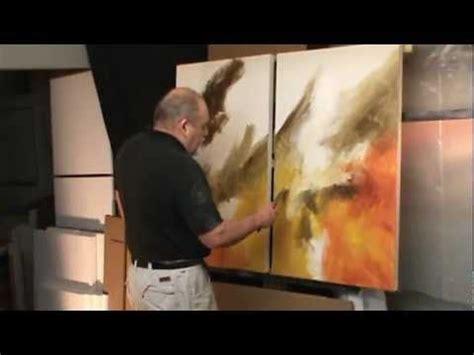 Michael Lang Abstract Painting Demo Sea Storm