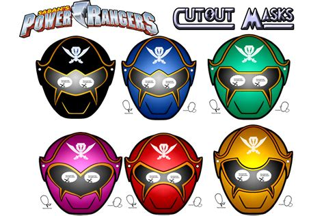 printable power ranger mask template power rangers birthday printable masks by digikidsdesign
