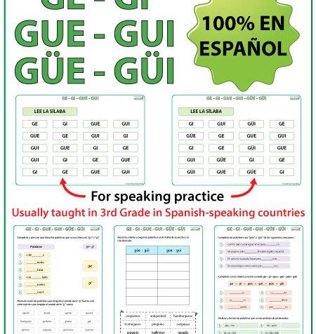 intonation pattern in spanish first grade worksheets for spanish syllables first best