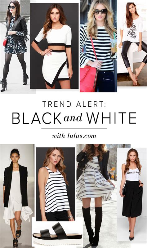 Trend Alert Textural Black And White by Trend Alert Black And White Lulus Fashion
