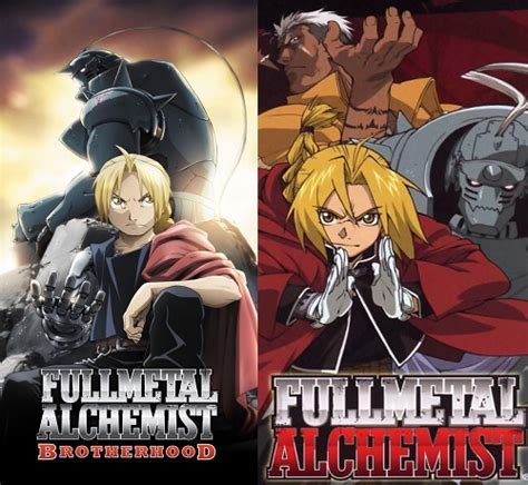 fullmetal alchemist movie anime fullmetal alchemist animes which one is better the