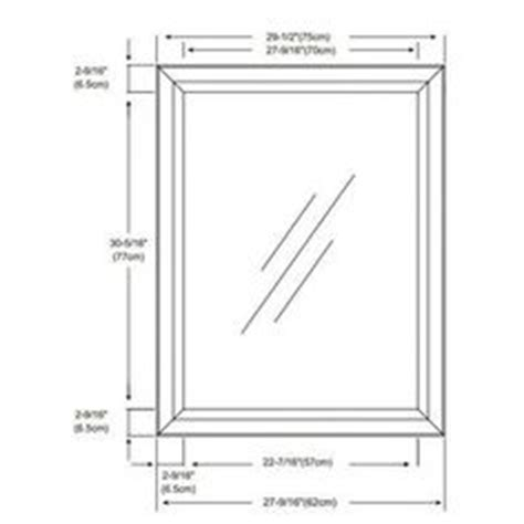 standard bathroom mirror dimensions 1000 images about home kitchen bathroom mirrors on