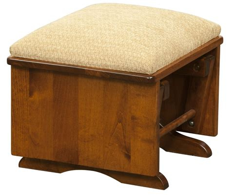x rocker ottoman solid wood chairs ottomans plain and simple furniture