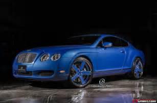 Blue Bentley Azure Blue Bentley Continental Gt By Ultimate Auto Gtspirit