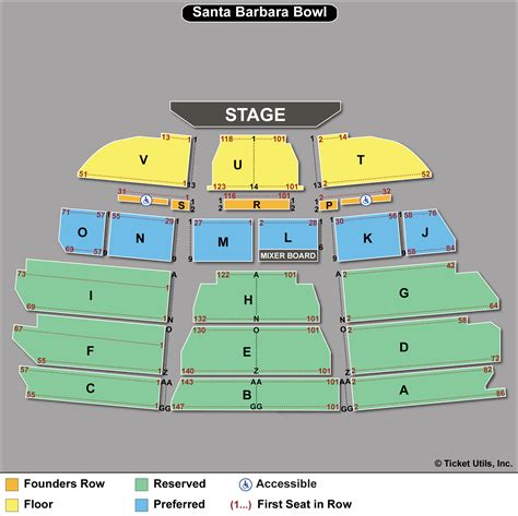 section 8 santa barbara 2 tix joe bonamassa 8 25 santa barbara bowl sect sec t ebay
