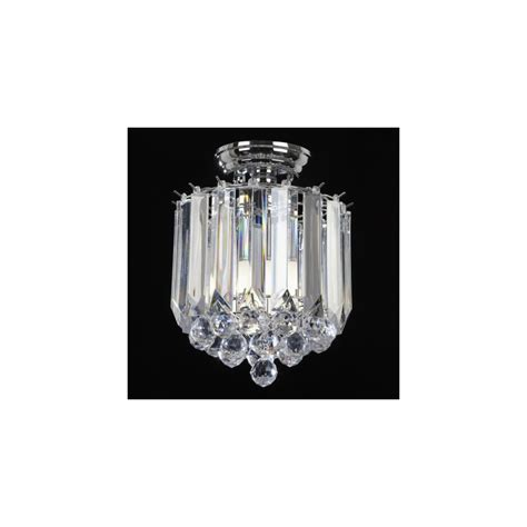 Endon Ceiling Lights Endon Lighting T 699 Acrylic Semi Flush Ceiling Light