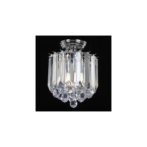 Acrylic Ceiling Light Endon Lighting T 699 Acrylic Semi Flush Ceiling Light