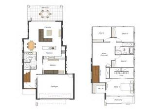 bloombety small lot house floor plans narrow lot small