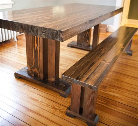 bench style dining room tables traditional farmhouse style dining table ideas 4 homes
