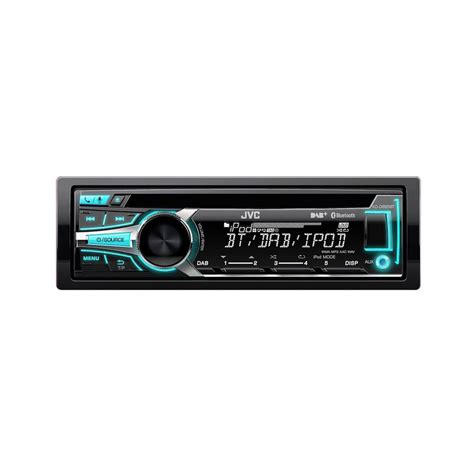 Jvc Usb Aux Cd Mp3 kd db95bt cd mp3 car stereo with front usb aux input and bui