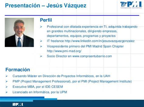 Executive Mba Espaã A by Pmi En El Mundo Y En Espa 241 A Tendencias En La Direcci 243 N De