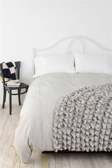 urban outfitters bedding sale corner ruffle duvet cover urban outfitters