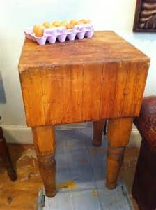 vintage antique butcher block cabinets pinterest antique primitive maple butcher block table from