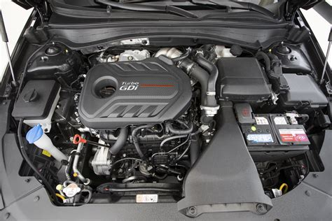 Kia Turbo Engine 2016 Kia Optima Sxl 2 0t Test Review Motor Trend