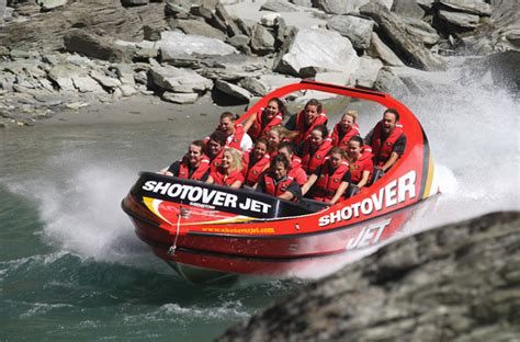 shotover river jet boat ride new zealand shotover jet boat ride offers white water thrills