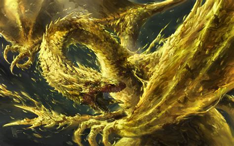 the golden smaug the golden by ijur on deviantart
