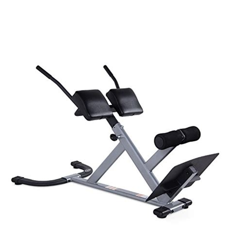 cap strength 45 degree hyperextension workout machine