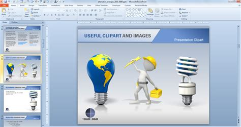 Animated Powerpoint Templates For Presentations On Renewable Energies Free Powerpoint Template Animation