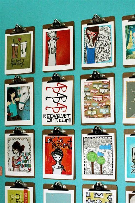 creative ways to display art wall art pinterest