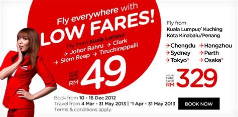airasia malaysia promo airasia promotion dec 2012 malaysia lcct relevant