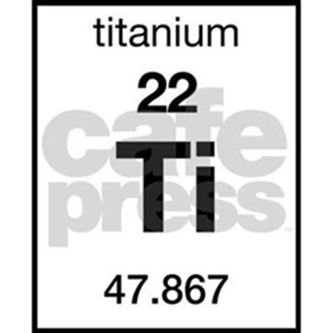 Titanium On Periodic Table by Periodic Table Titanium Stickers Periodic Table Titanium