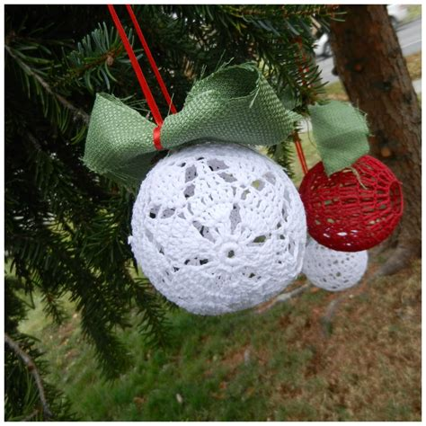handmade 19 crochet ornaments stitch and unwind