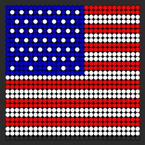 patriotic bead crafts