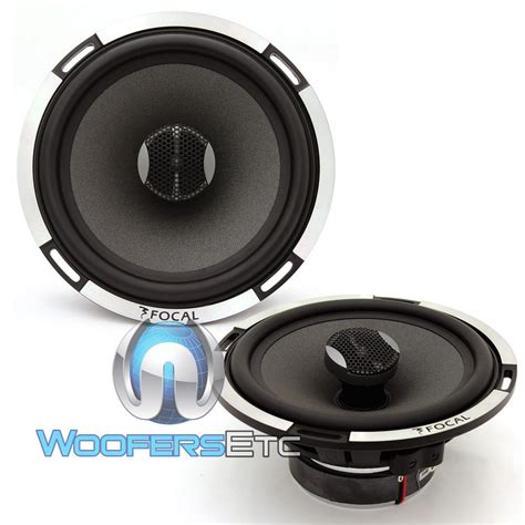 Speaker Coaxial focal pc 165x2 2 ohm 6 5 inch 80 watts rms 2 way coaxial speakers