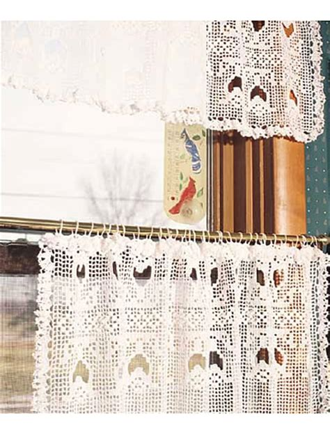free crochet window curtain patterns crochet for the home crochet decor patterns tulip lace
