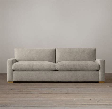 Rh Maxwell Sofa by The Maxwell Upholstered Sofa In Perennials Classic