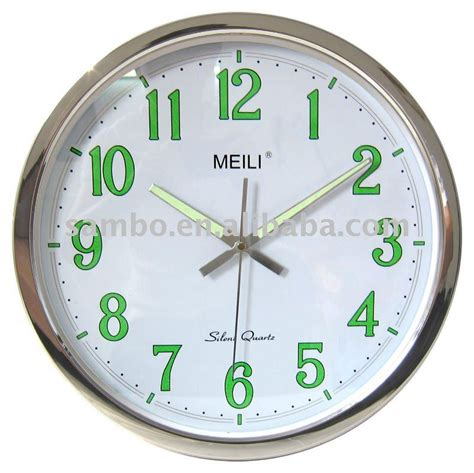 light wall clock keep time even in the