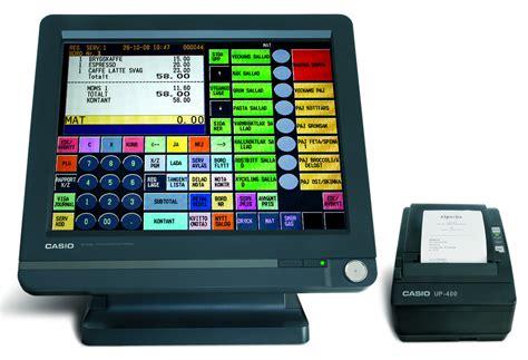 Mesin Kasir Touchscreen jual harga mesin kasir casio bt 9100
