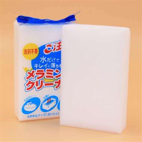 Sponge Magic Cleaner Pembersih Lantai melamine sponge magic sponge eraser melamine cleaner eco friendly white kitchen magic eraser