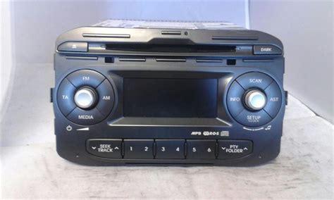 Kia Cd Player Kia Picanto 2014 Radio Stereo Cd Player 961701y2111mb