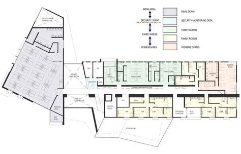 Sustainable Floor Plans Gallery Of Design For Homeless Shelter In San Luis Obispo