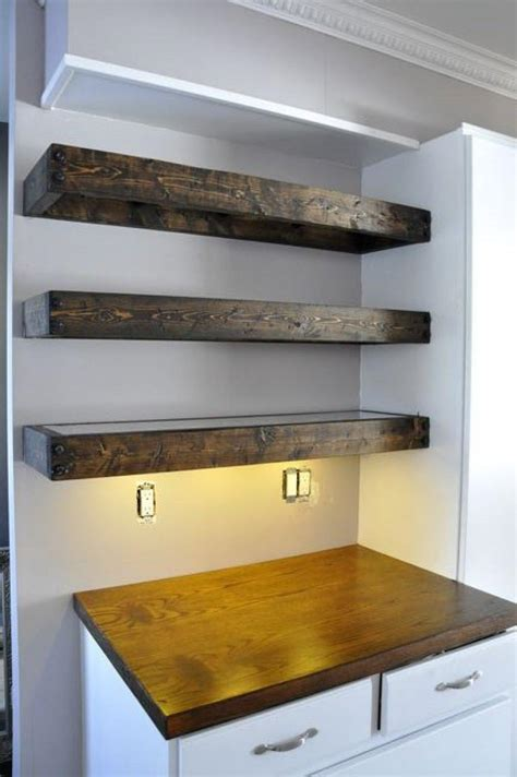 thick floating wall shelves best decor things