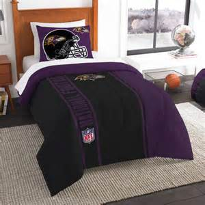 baltimore ravens twin comforter bed set