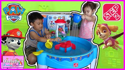 step2 paw patrol water table step2 paw patrol water table outdoor play toys and
