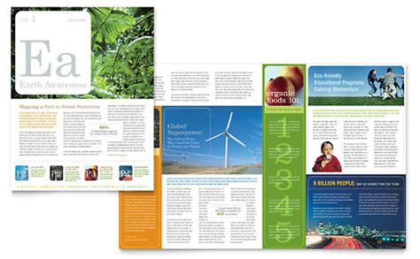 charity newsletter template environmental newsletter templates agriculture farming