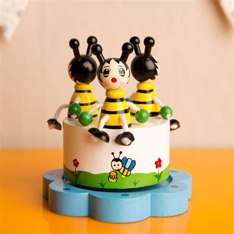 bee mp3e bumble bee merry go round music box forever bespoke
