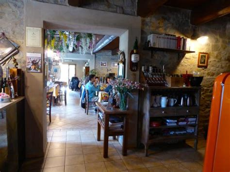 agriturismo co fiorito view from the kitchen into the restaurant picture of