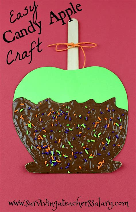 fall festival crafts for easy apple fall craft for fall festival craft