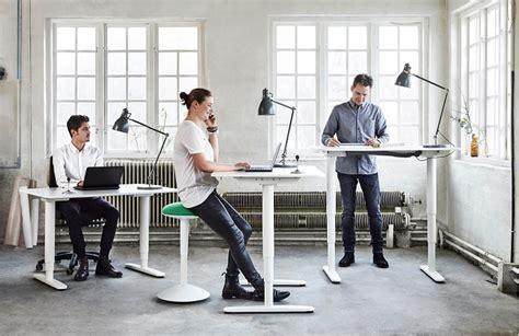 bekant standing desk by ikea ergonomic office furniture