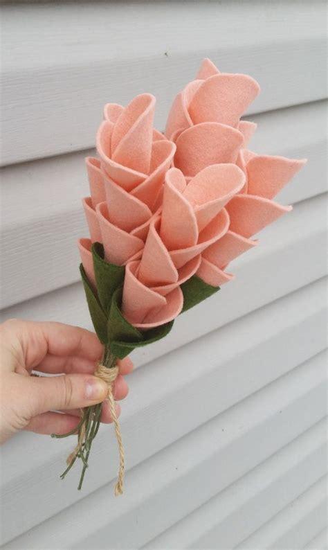 How To Make Handmade Flower Bouquet - best 25 felt flower bouquet ideas on felt