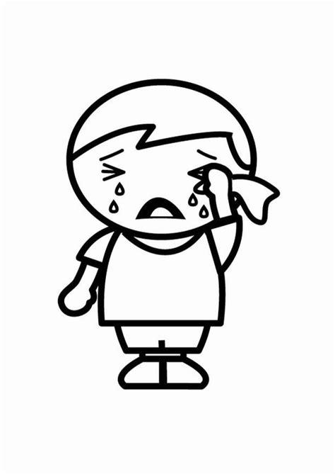 imagenes de sad para colorear dibujo para colorear triste img 24804