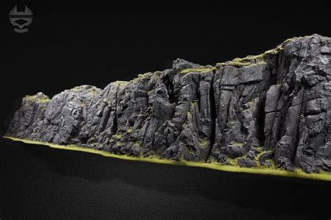 zbrush terrain tutorial rock face by battleboards gaming pinterest rocks and