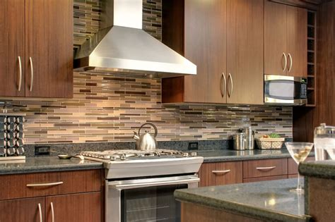 Kitchens With Tile Backsplashes Outstanding Tile Backsplashes Supporting Interior Look Mykitcheninterior