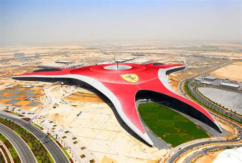 Ferrari Land In Dubai by Home Sweet Home Benoy Architecture